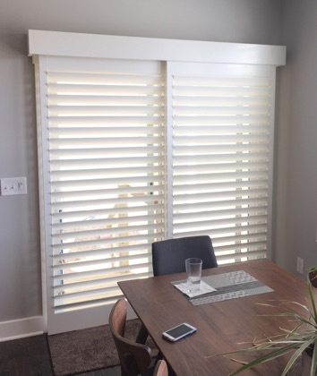 San Jose modern sliding door shutters