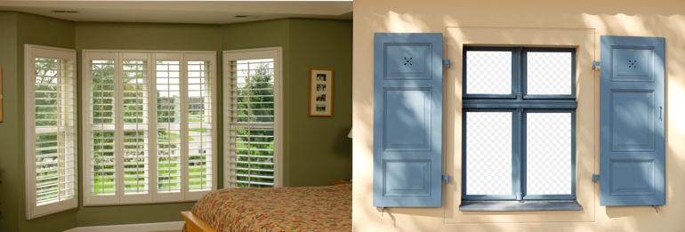 Interior shutters san jose