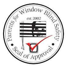 Seal of Approval by Parents for Window Blind Safety in San Jose