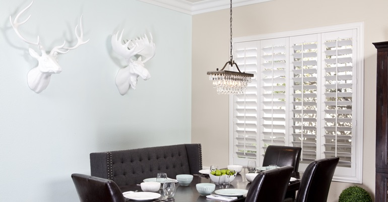San Jose dining room shutters