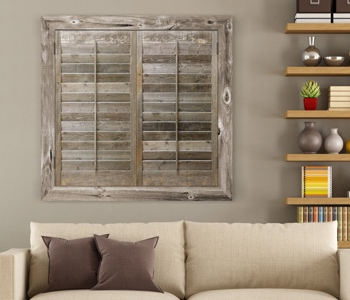 Reclaimed Wood Shutters Product In San Jose