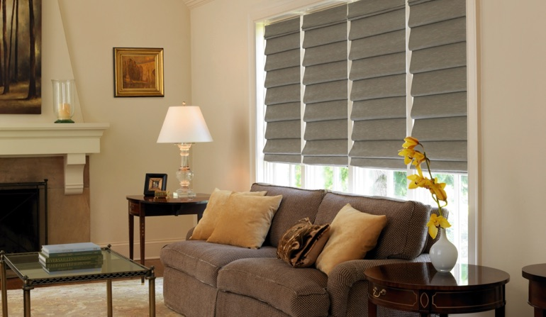 Roman Shades In San Jose, CA