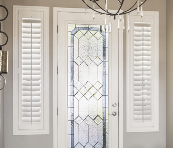 San Jose sidelight shutters