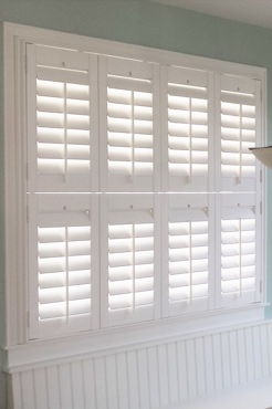 San Jose Studio Plantation Shutters