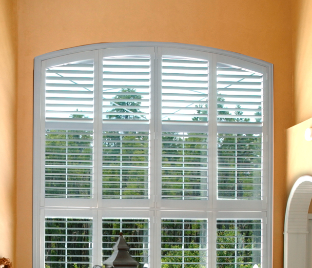 Arched Window Shutters In San Jose, CA