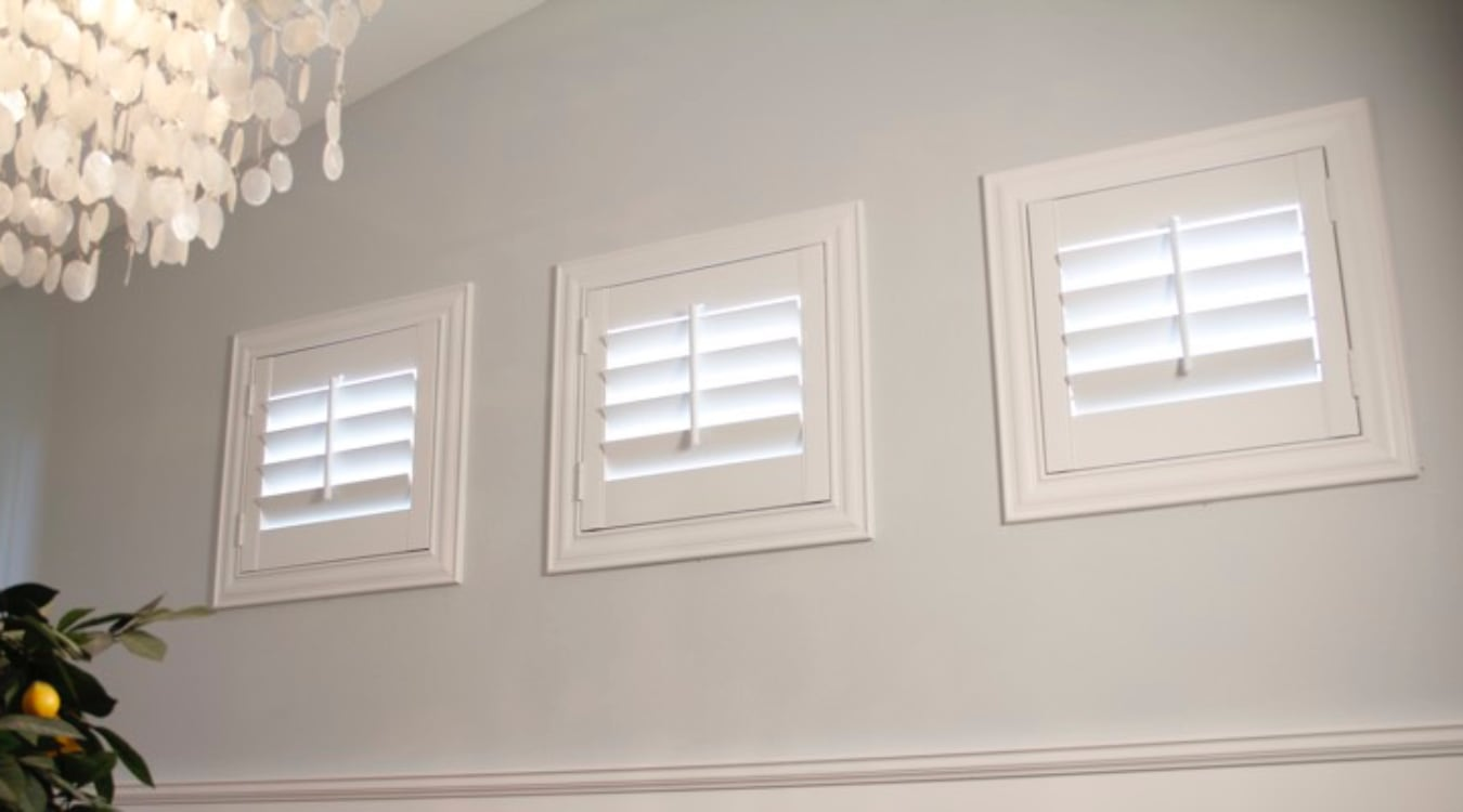 San Jose casement window shutters
