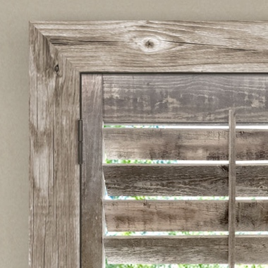 Reclaimed Wood Shutters - Craftsman Z Frame