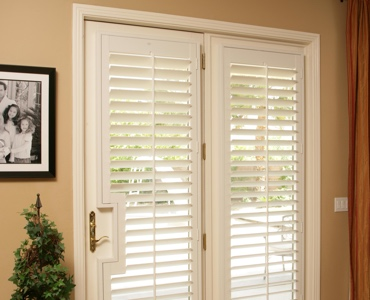 San Jose french door shutters
