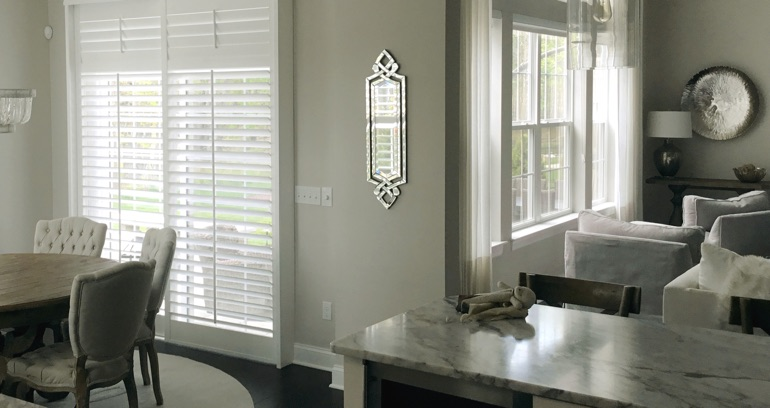 San Jose kitchen sliding door shutters