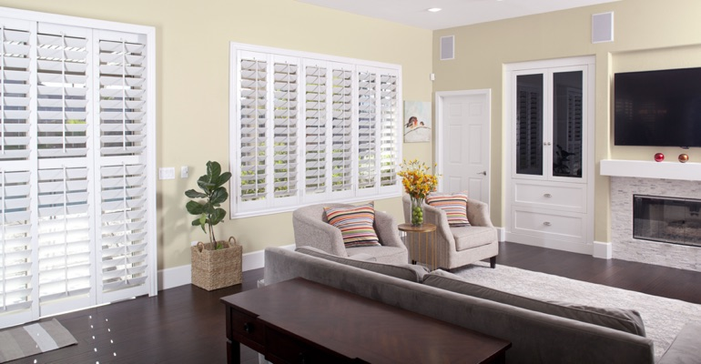 Cleaning Polywood shutters in San Jose is simple
