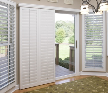 San Jose Sliding Door Shutters