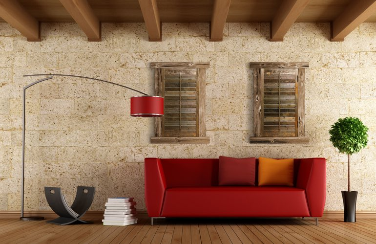 Newest Trends In Window Treatments In San Jose: Reclaimed Wood Shutters