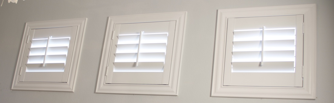 San Jose casement window shutter.